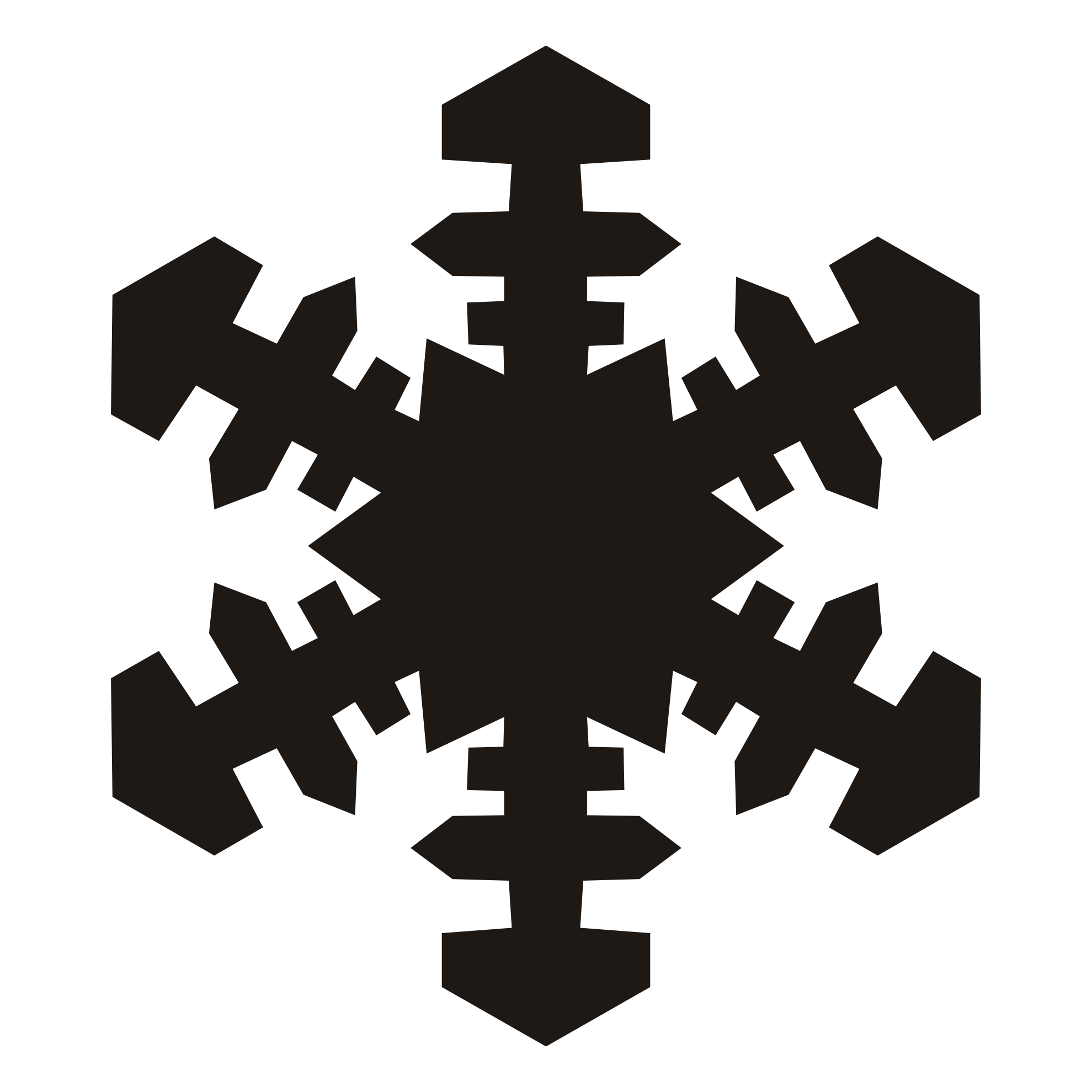 Snowflake silhouette png. Cliparts zone within o