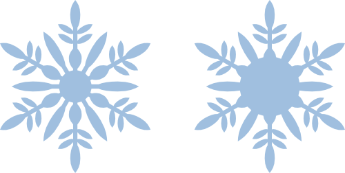 Snowflake silhouette png. Ornament and svg files