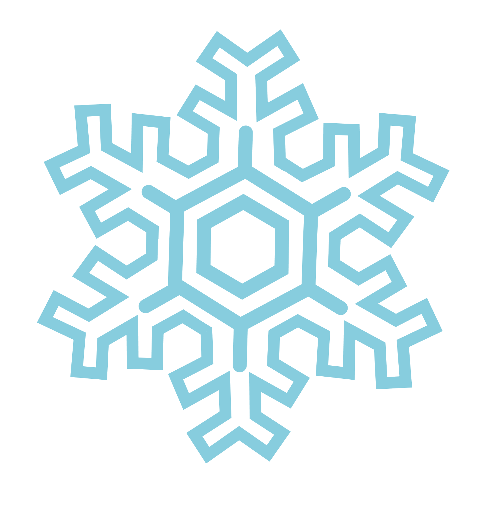 Snowflake vector png. Snowflakes images free download
