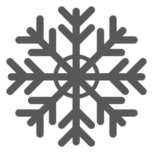 Snowflake vector png. Flat icon transparent svg