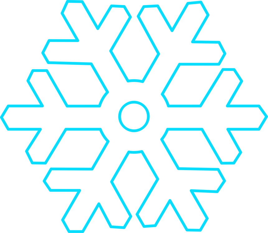 Snowflakes clipart circle. Download snowflake computer icons