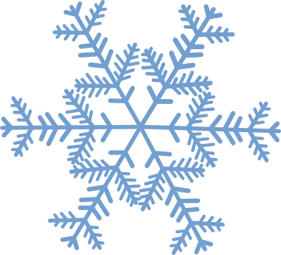 Snowflakes clipart clear background. Bright ideas snowflake transparent