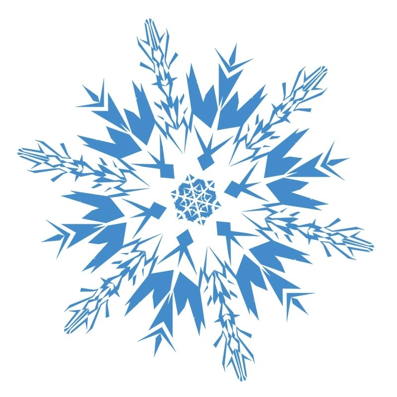 Snowflakes clipart clear background. Christmas snowflake transparent scrapheap