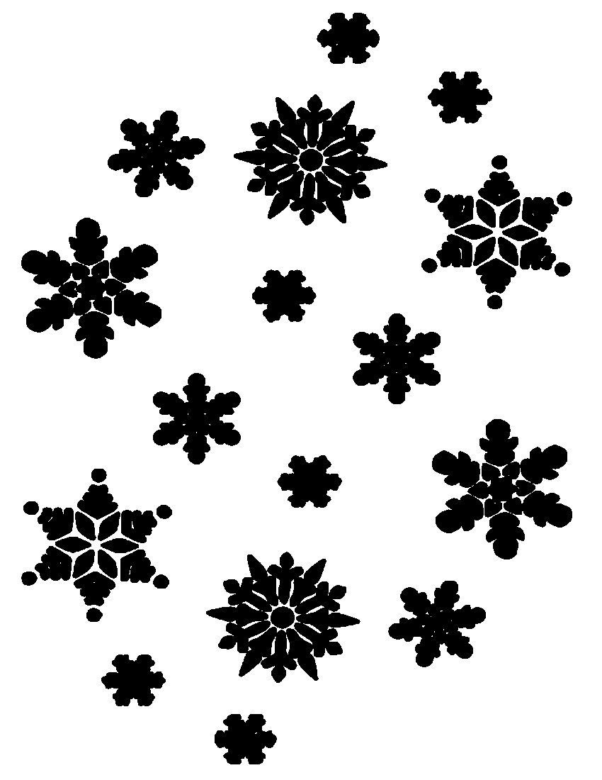 Snowflakes clipart clear background. Png images transparent free