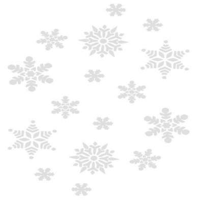 Snowflakes clipart clear background. Png with transparent on