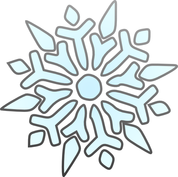 Snowflakes clipart comic. Snowflake cartoon drawing at