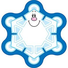 Snowflakes clipart cut out. Royalty free rf illustration