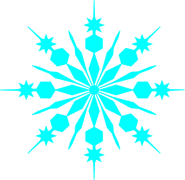 Snowflakes clipart cut out. Free snowflake outline download