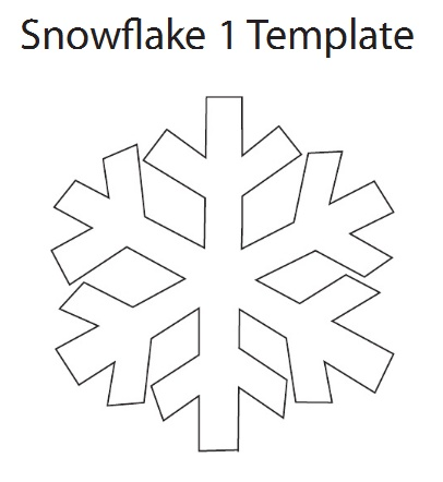 Snowflakes clipart cut out. Pictures easy snowflake patterns