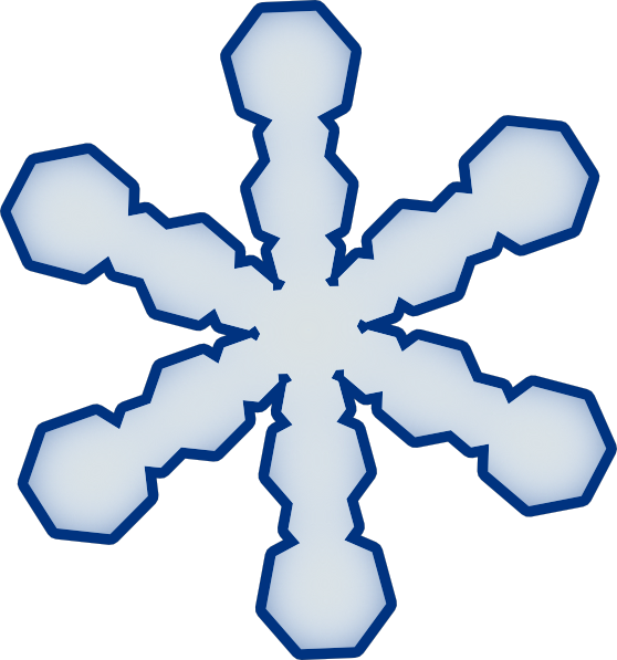 Snowflakes clipart easy. Snowflake simple clip art
