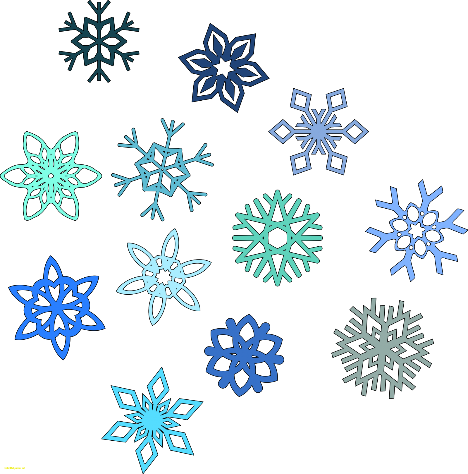 Snowflakes clipart easy. Snowflake image transparent rr
