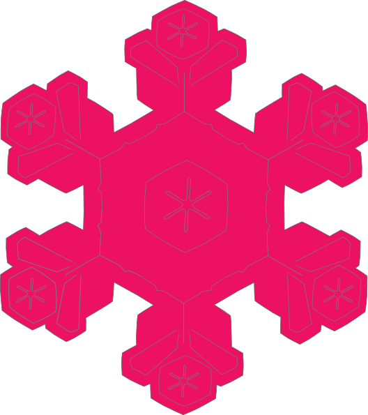 Snowflakes clipart large. Free snowflake cliparts download