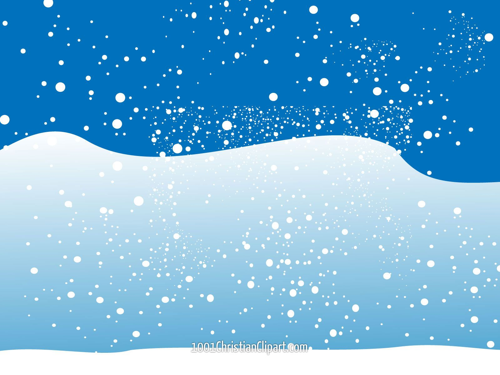 Snowflakes clipart scene. Stunning design ideas snow