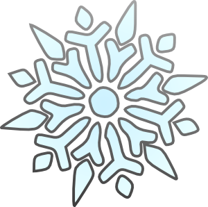 Snowflakes clipart easy. Free transparent cliparts download