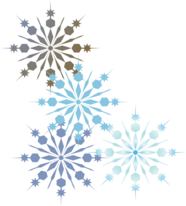 Snowflakes png watercolor. Messy monday aha a
