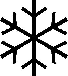 Snowflakes png black. File snowflake wikimedia commons