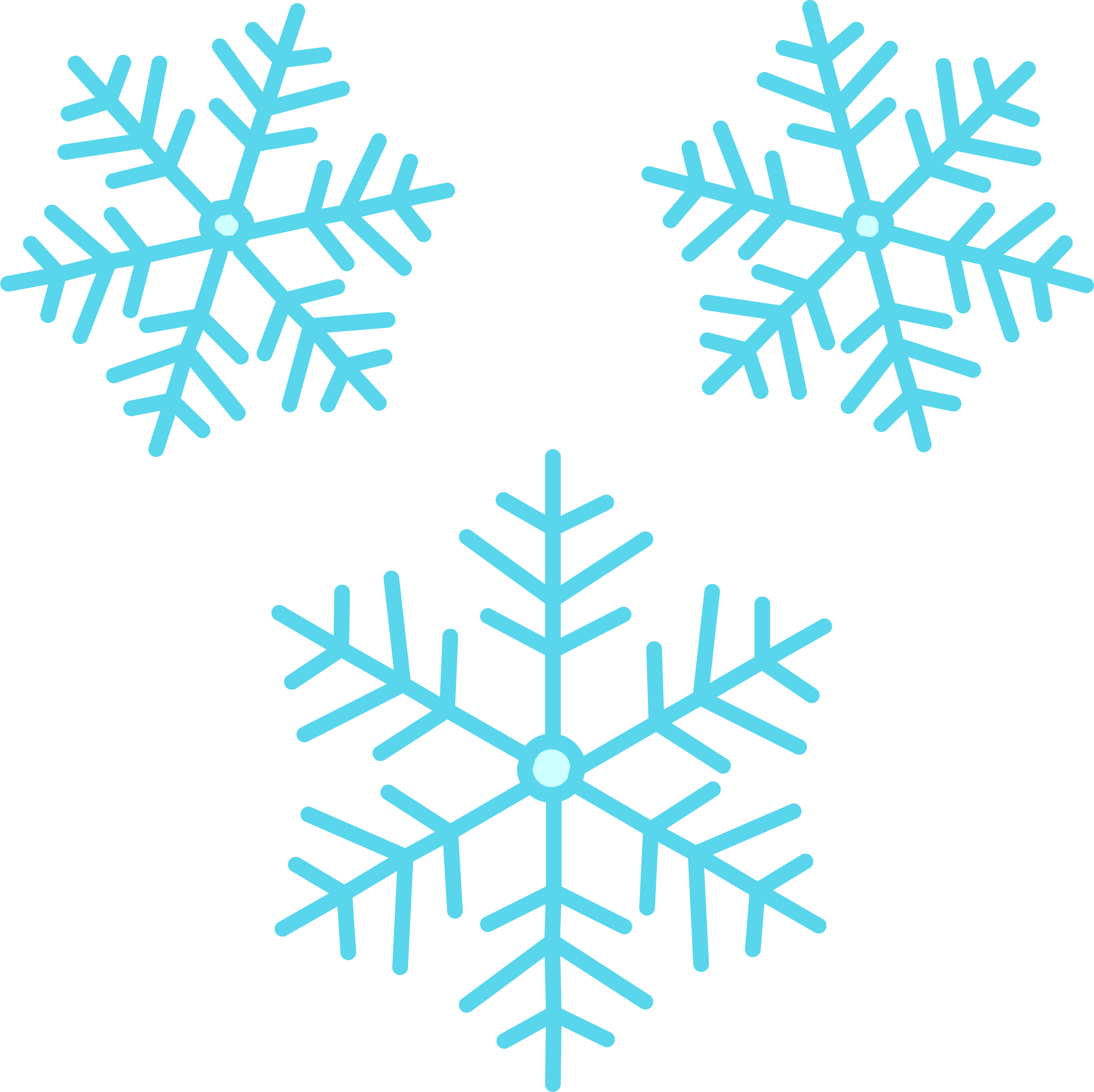 Snowflakes png cute. Image purepng free transparent