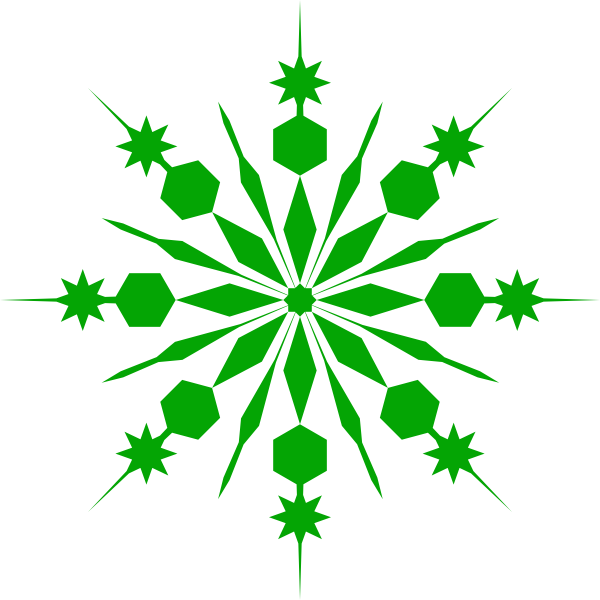 Snowflakes png green. Shower snowflake clip art
