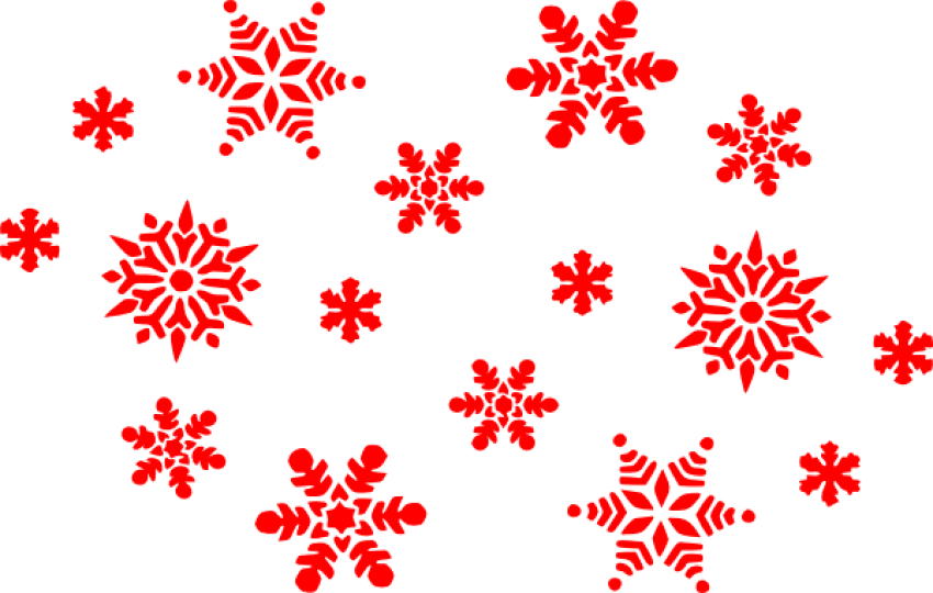 Snowflakes png red. Download images background toppng