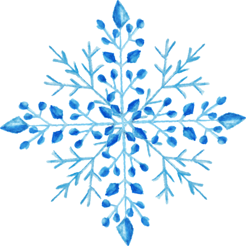 Snowflakes png watercolor. Download snowflake transparent images