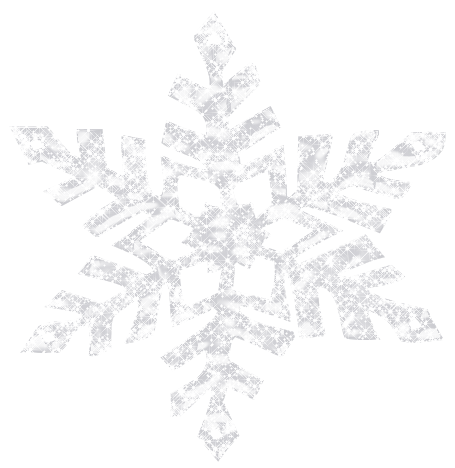 Snowflakes png. Shining snowflake decorative elements