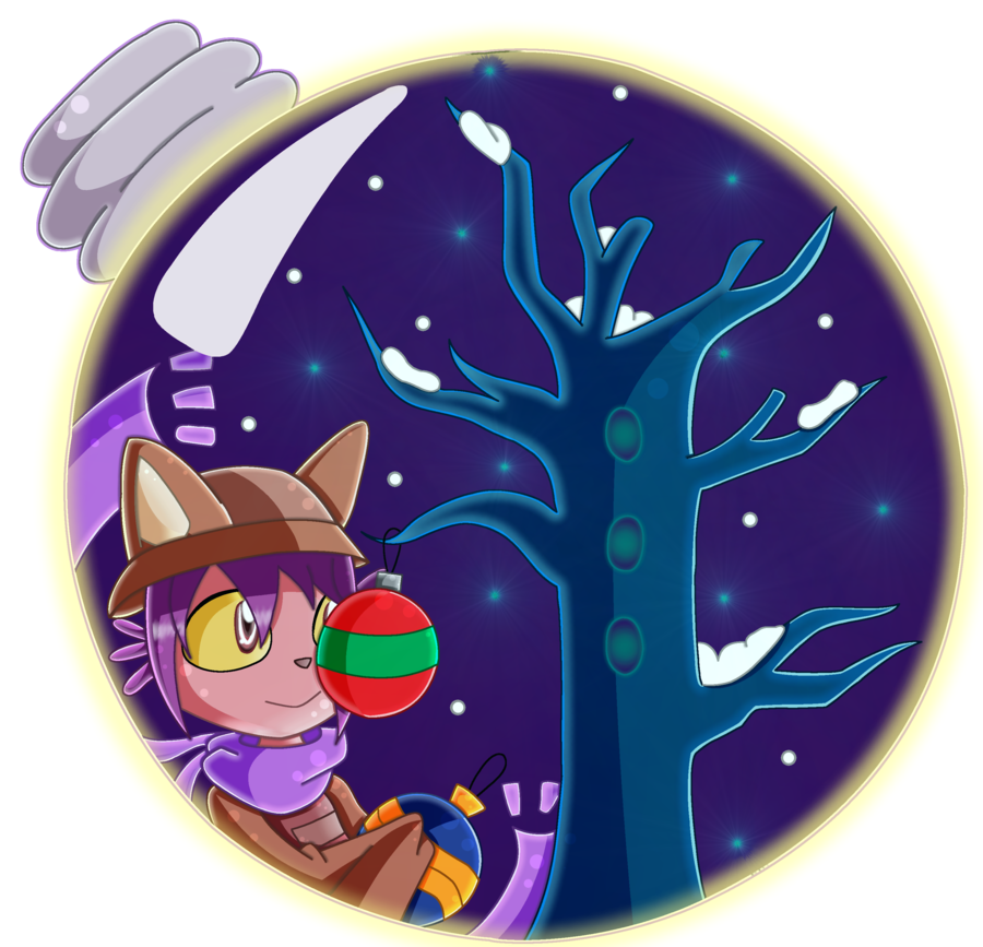 Snowglobe drawing themed. Oneshot niko by patatoxicproductions