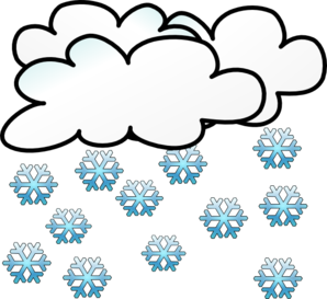 Snowing clipart turquoise. Clip art at clker