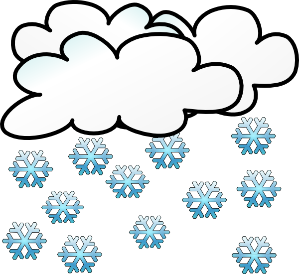 Snowing clipart. It s its