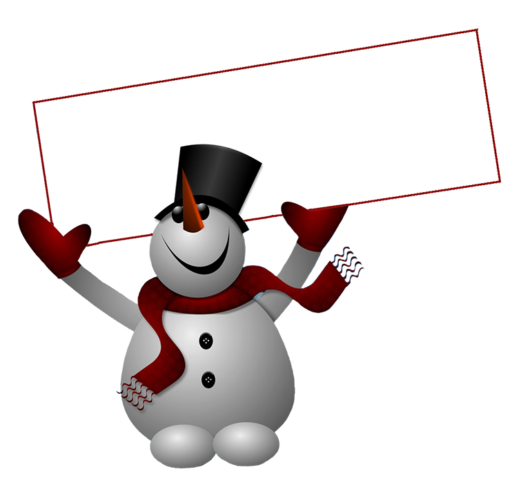 Evil snowman png. Clipart with sign clip