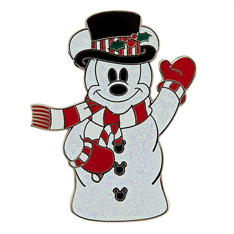 Snowman mickey mouse