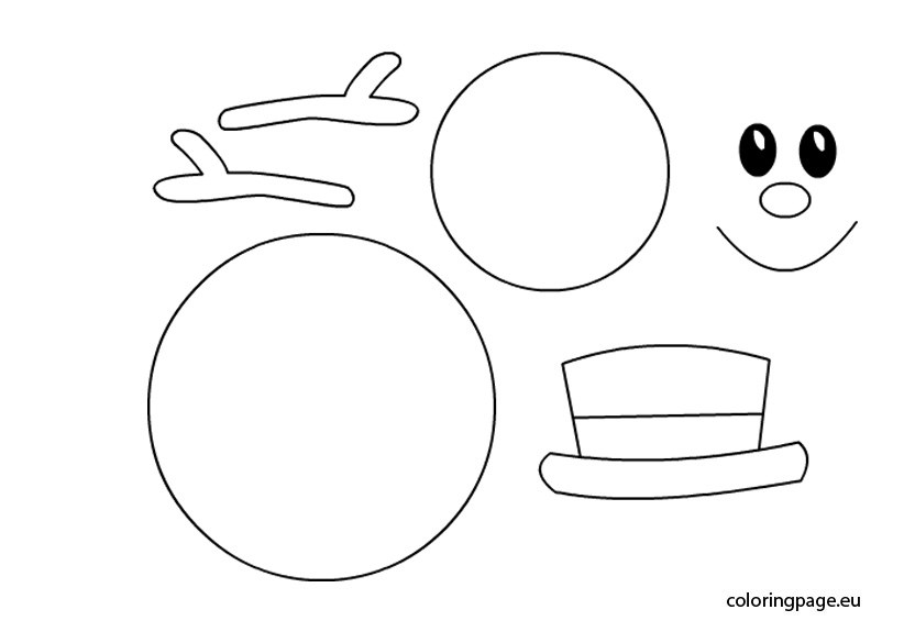 blank snowman coloring page - Google Search | Snowman coloring ... | 575x822