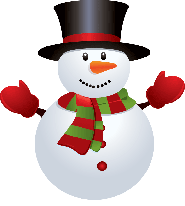 Snowman png transparent