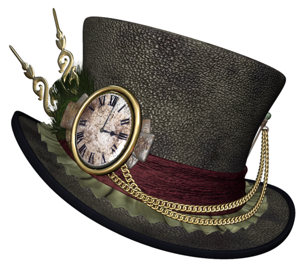 Snowman hat png. Steampunk clipart picture halloween