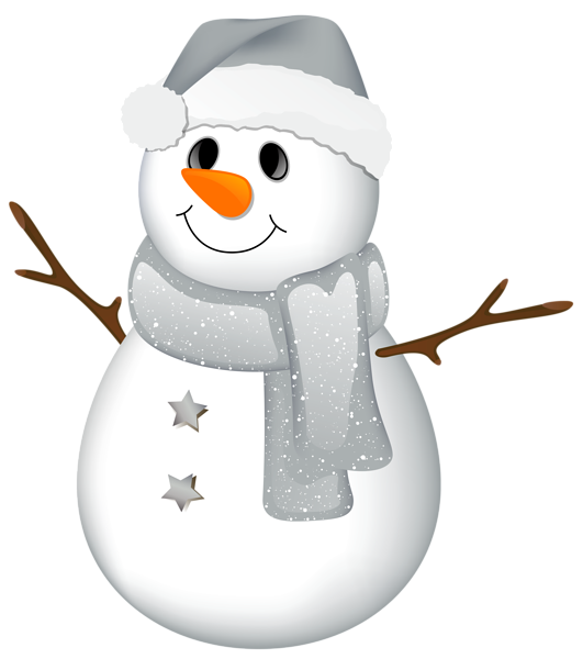 Frost transparent frosty the snowman. With grey hat clipart