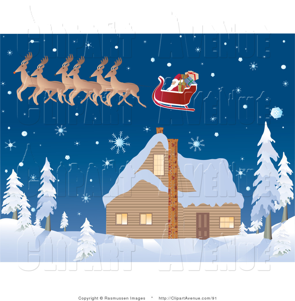 Snowy clipart santa. Snow pencil and in
