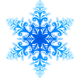 Christmas snowflakes png. Snow and ice customs