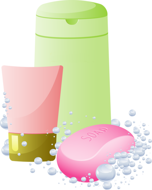soap clipart body soap