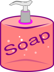 soap clipart soap bottle