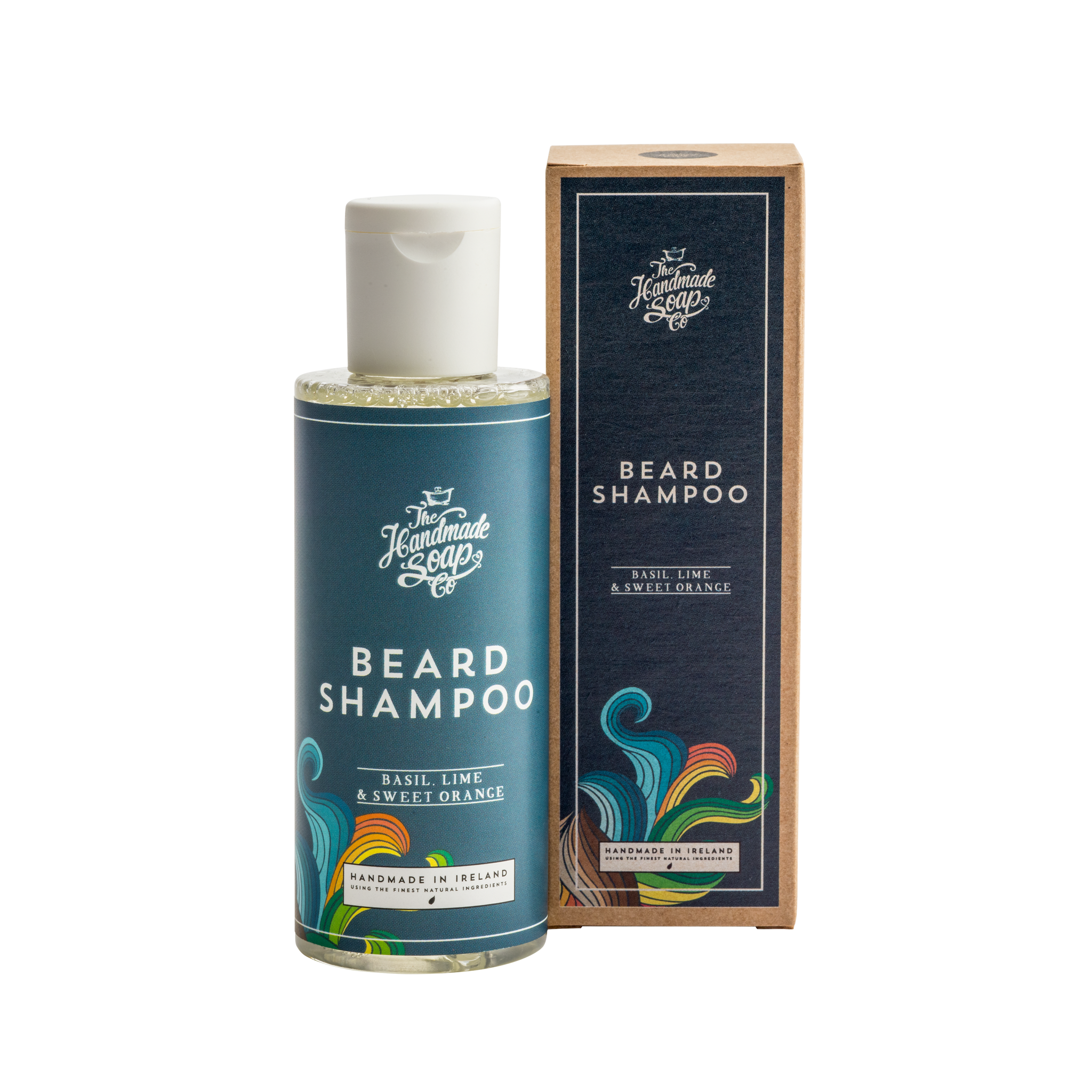 Soap transparent based. Plant beard shampoo made