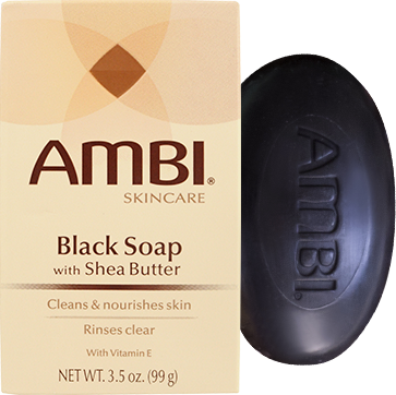 Transparent soaps black. Ambi soap bar with