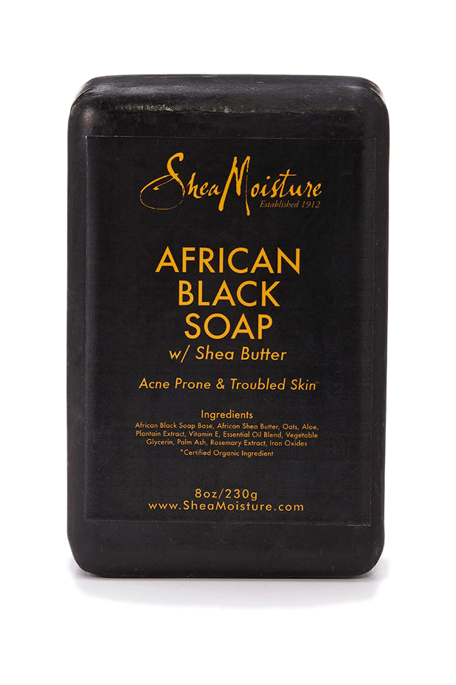 Soap transparent black. African extravaganza
