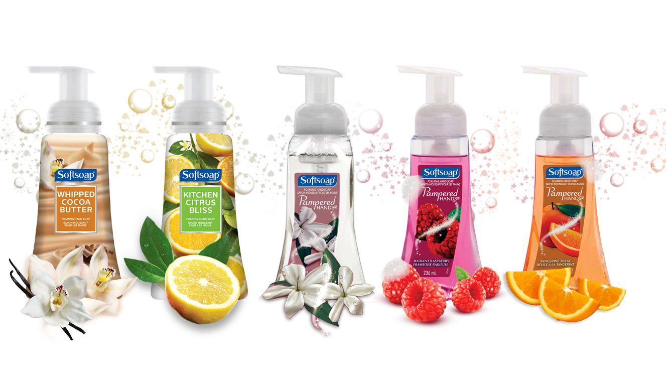 Soap transparent branded. Softsoap foaming coupon save