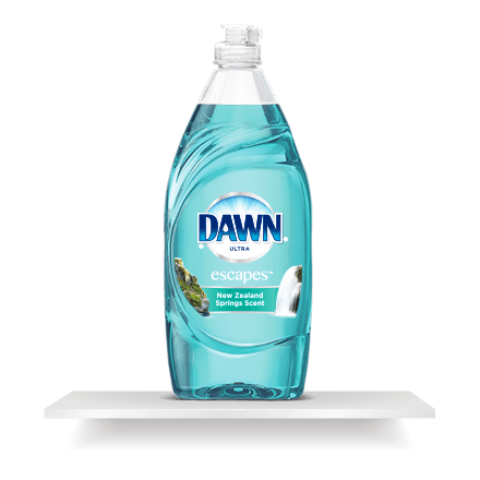 Soap transparent dish. Ultra dishwashing liquid original