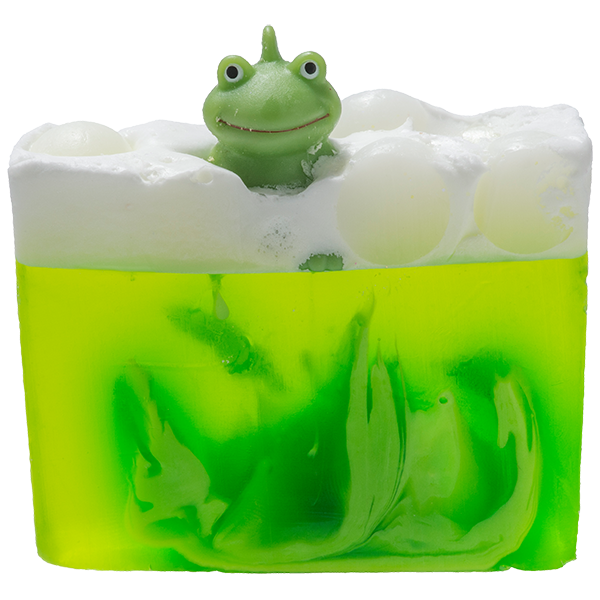 Soap transparent green. It s not easy