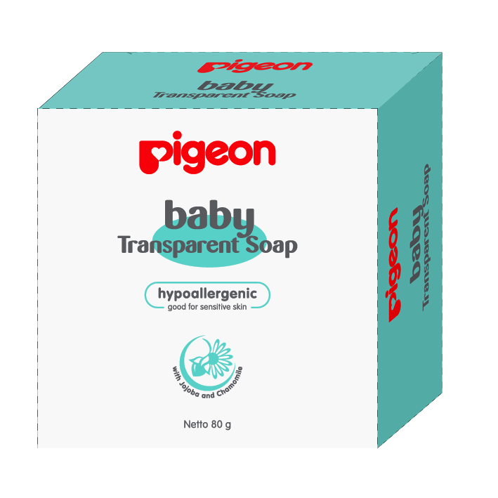 Transparent soaps pigeon. Baby soap chamomile g
