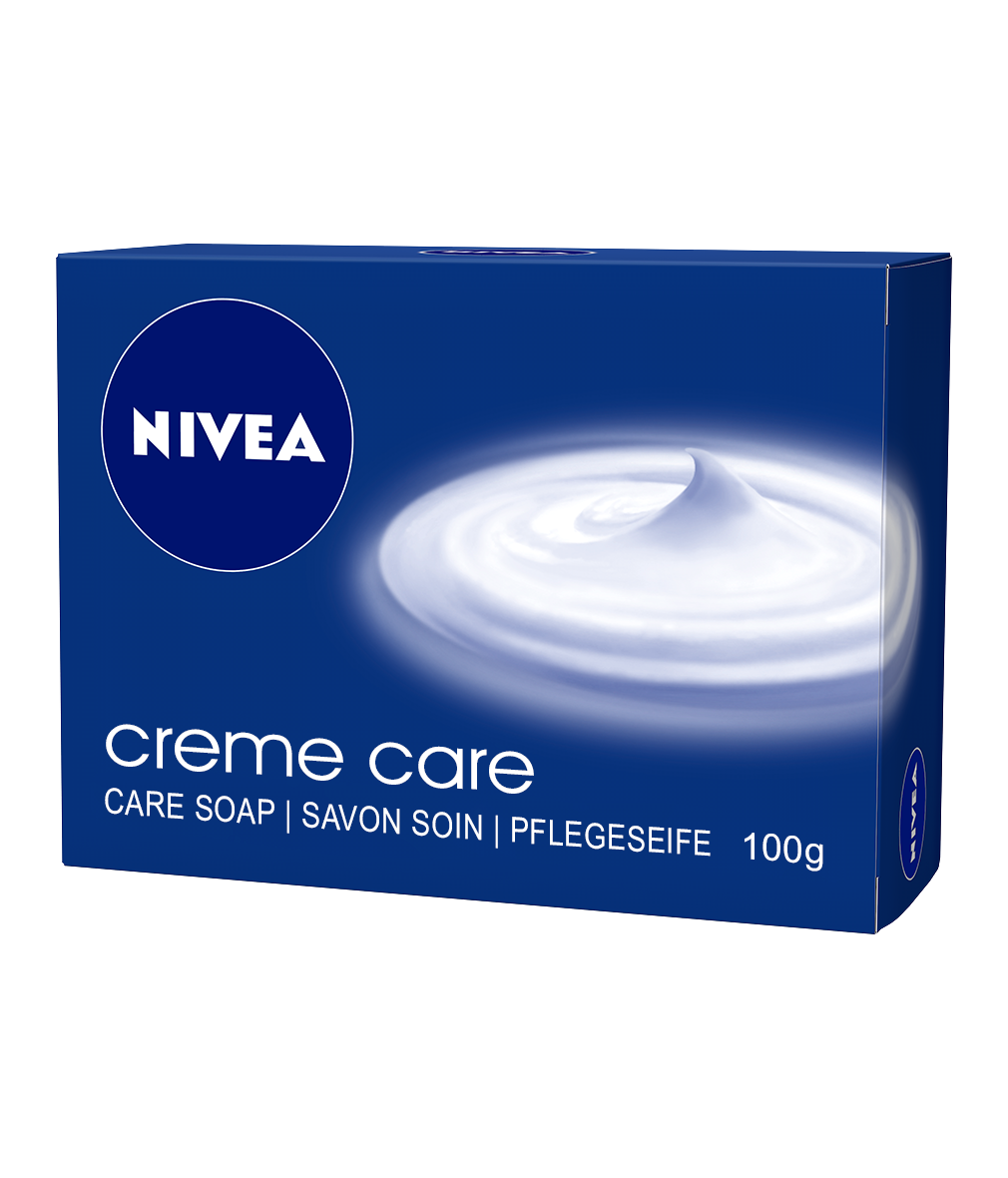 Creme care soap nivea. Transparent soaps slogan graphic black and white stock