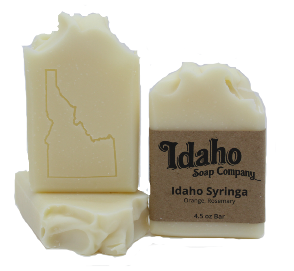 Transparent soaps translucent. Idaho syringa soap company