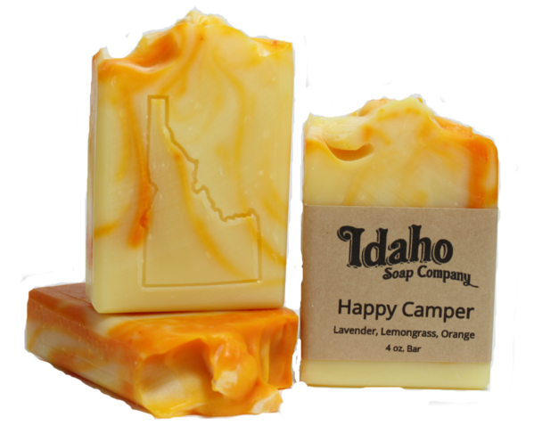 Transparent soaps translucent. Happy camper idaho soap