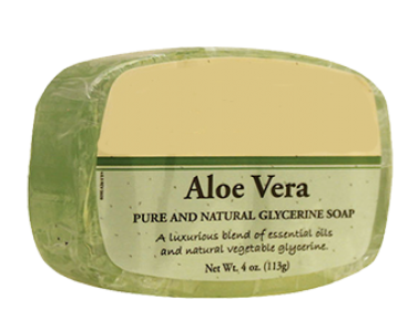Soap transparent vegetable glycerin. Aloevera at rs piece