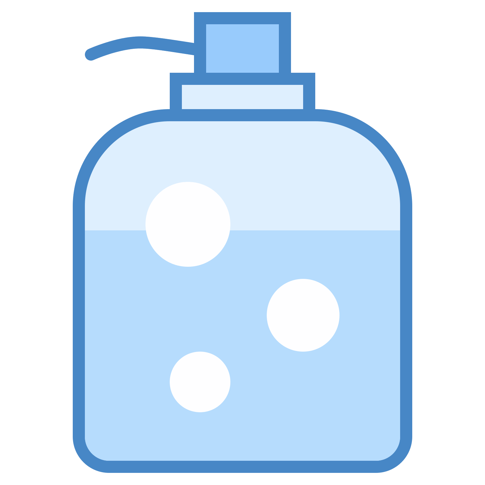 Soap vector dispenser. Icon free download png
